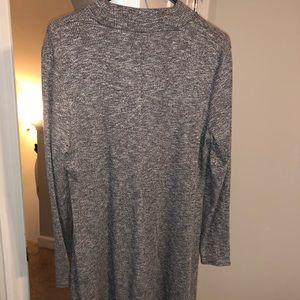 Madewell Mock Turtleneck Knit Dress